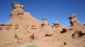 Goblin Valley and Little Wild Horse Canyon