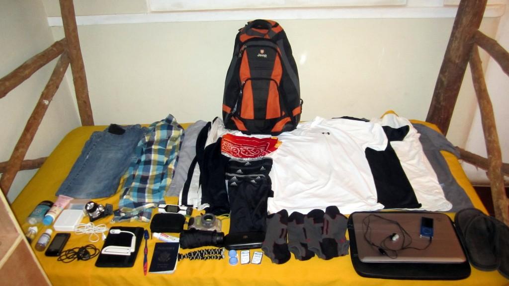 Travel Bag Contents