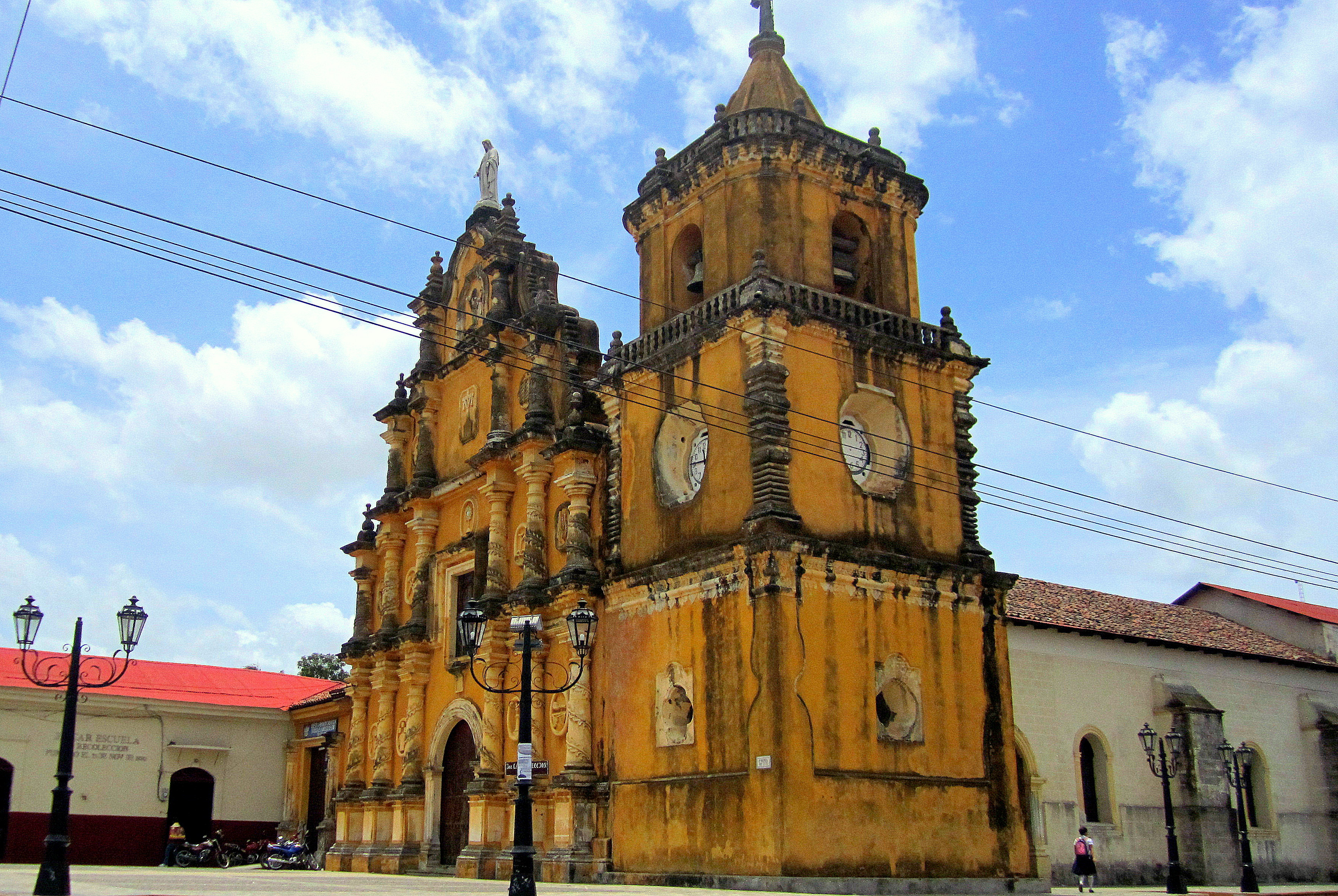 Recoleccion Cathedral Leon Nicaragua