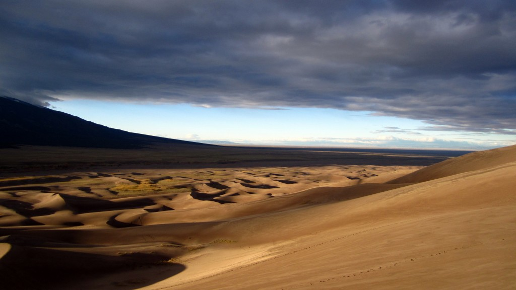 Sand Dunes Early Morning
