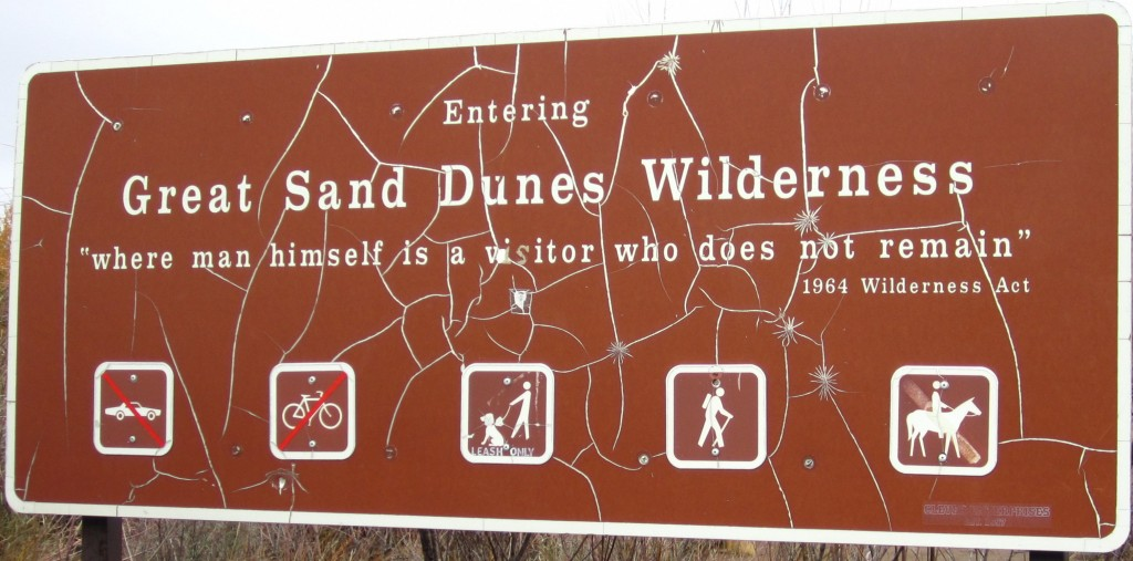 Grean Sand Dunes Wilderness