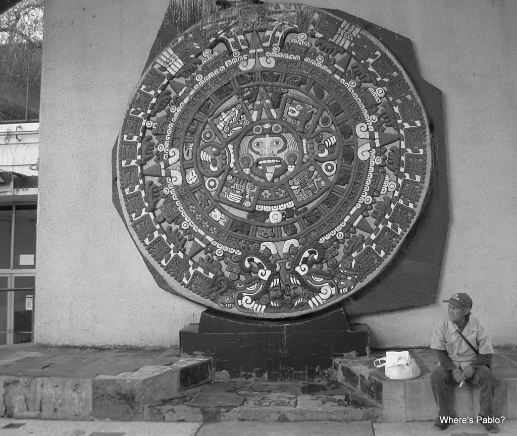 Tijuana Aztec Calendar