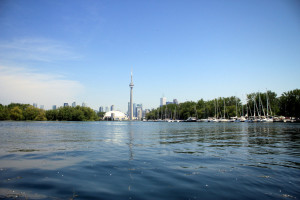Canoeing in Toronto