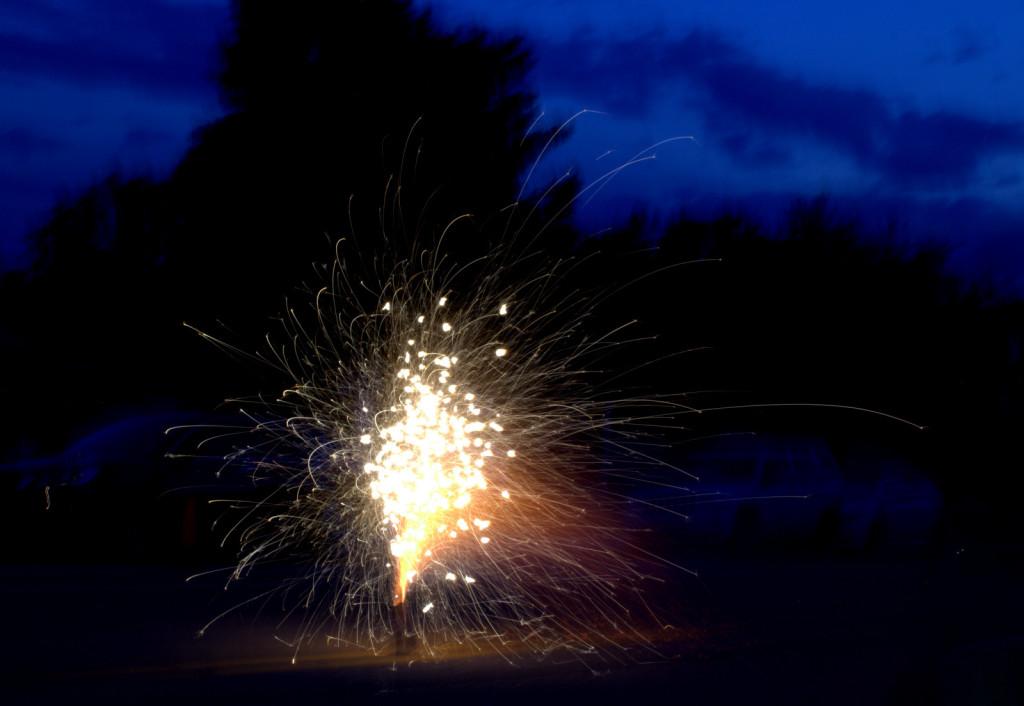 Fireworks Fountain