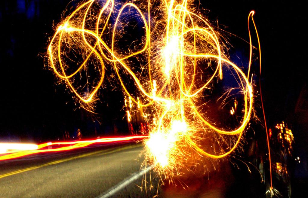 Fireworks Light Art