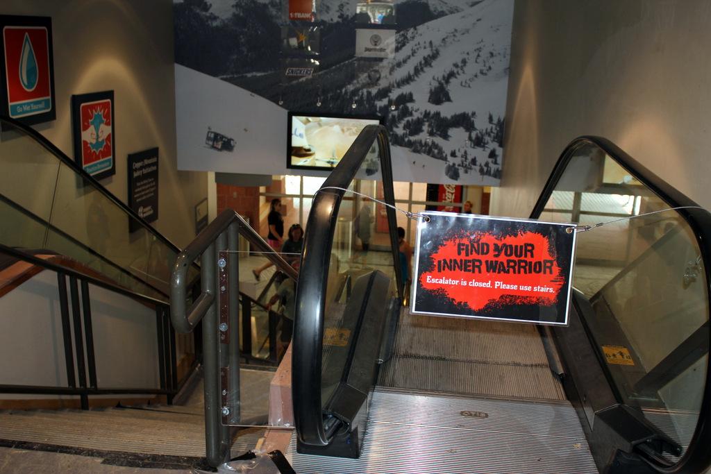 Warrior Dash Stairs