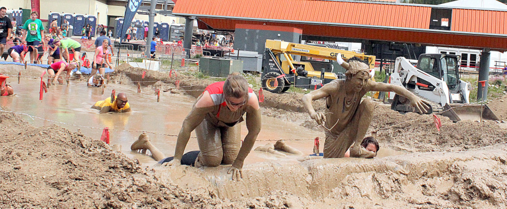 Warrior Dash Mud Pit