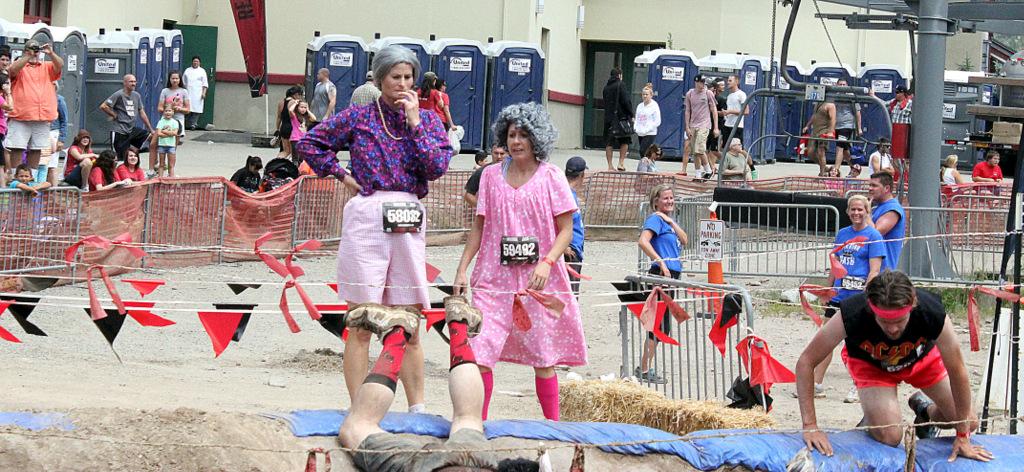 Grandmas at Warrior Dash