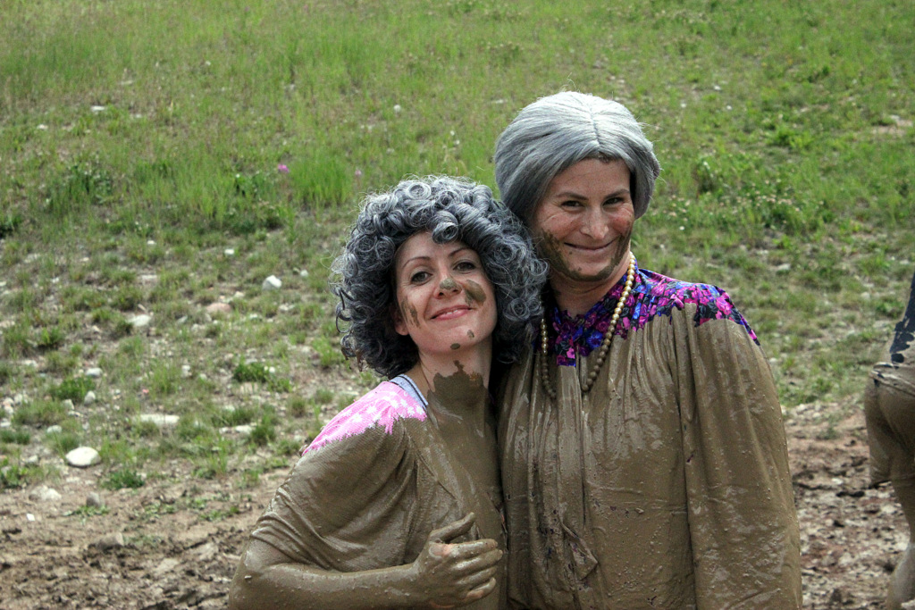 Grandmas at Warrior Dash
