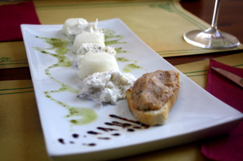 White Polenta and Bacalao
